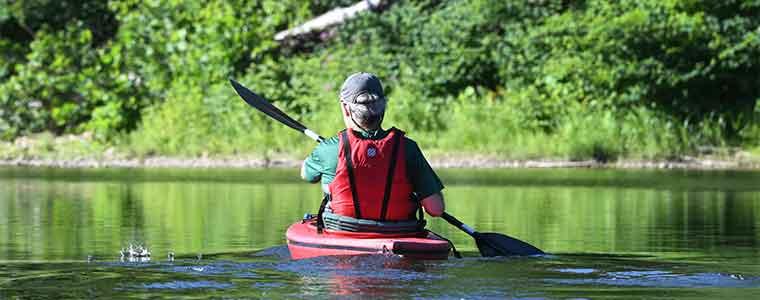 Kayaking on the Deerfield River